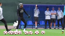 England team train after World Cup win