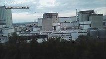 Un drone de Greenpeace s'écrase contre une centrale nucléaire
