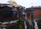 Refugees Work to Reinforce Houses as Monsoon Landslides Hit Rohingya Refugee Camps