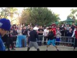 MANNY PACQUIAO SHADOW BOXING TRAINING for Manny pacquiao vs floyd mayweather