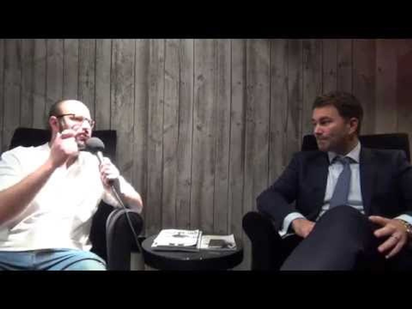 Eddie Hearn Extended Exclusive on all things Frampton vs Quigg, Joshua, Froch and Sky PPVs