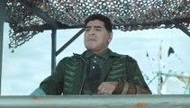 Maradona présente les nouveaux maillots Puma de l'OM