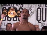Daniel Jacobs vs Peter Quillin - INTENSE WEIGH IN