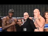 Deontay Wilder vs Artur Szpilka - WEIGH IN & FACE OFF!
