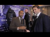 Eddie Hearn: Amir Khan vs Canelo Alvarez PREDICTION! & Anthony Joshua vs Charles Martin 50/50 Fight!