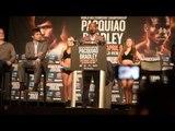 Manny Pacquiao vs Timothy Bradley 3 -  New York Press Conference - Timothy Bradley