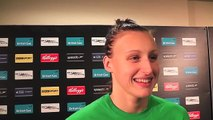 Sophie Allen wins 200m IM silver at British Champs 2012