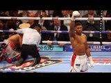 Anthony Joshua KNOCKOUT WIN! vs Dominic Breazeale