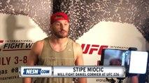 Stipe Miocic UFC 226 Open Workouts Media Scrum