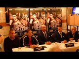 Lennny Daws V Anthony Yigit European Super Lightweight Presser