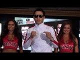 Julio Cesar Chavez Jr. ARRIVES! vs Canelo Alvarez - MEXICAN FANS GO CRAZY!!!