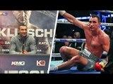 Wladimir Klitschko After 11th Round LOSS Against Anthony Joshua | Joshua vs Klitschko Boxing Fight