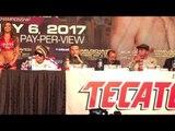 Julio Cesar Chavez Sr. at  FINAL PRESS CONFERENCE