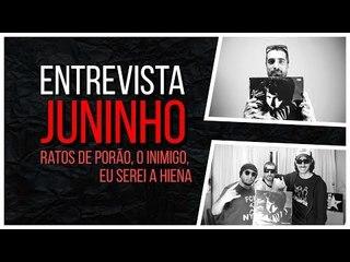 Meninos da Podrera - Juninho (Ratos de Porão / Eu Serei a Hiena / O Inimigo) - S04E18