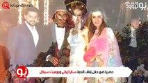 صور حصرية من حفل زفاف النجمة سنايا إيراني وم