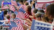 GLOBALITA: Grupo, umakyat sa Statue of Liberty para magprotesta vs US Immigration policy; Ika-242 Independence Day ng US, ipinagdiwang; 17 patay sa heat wave sa Canada; All-women motor racing team sa India, nagpakitang gilas