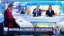 L'édito de Christophe Barbier: Le discours d'Emmanuel Macron au Congrès déjà critiqué