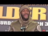 Deontay Wilder vs Luis Ortiz - POST FIGHT PRESS CONFERENCE