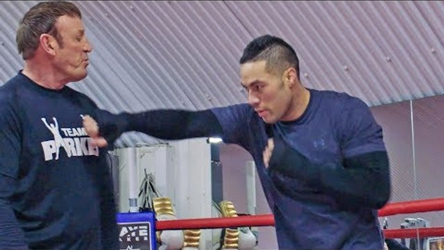 Sneak Preview into Joseph Parker TRAINING CAMP ahead of Anthony Joshua Fight