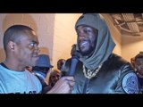 Exclusive DEONTAY WILDER After BIG KNOCKOUT WIN vs Luis Ortiz