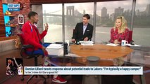 Does Damian Lillard's tweet mean he's open to joining LeBron James on the Lakers? | Get Up! | ESPN