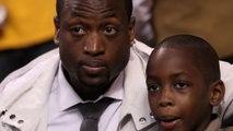 Watch: Dwyane Wade's Son SCORE On NBA Players!