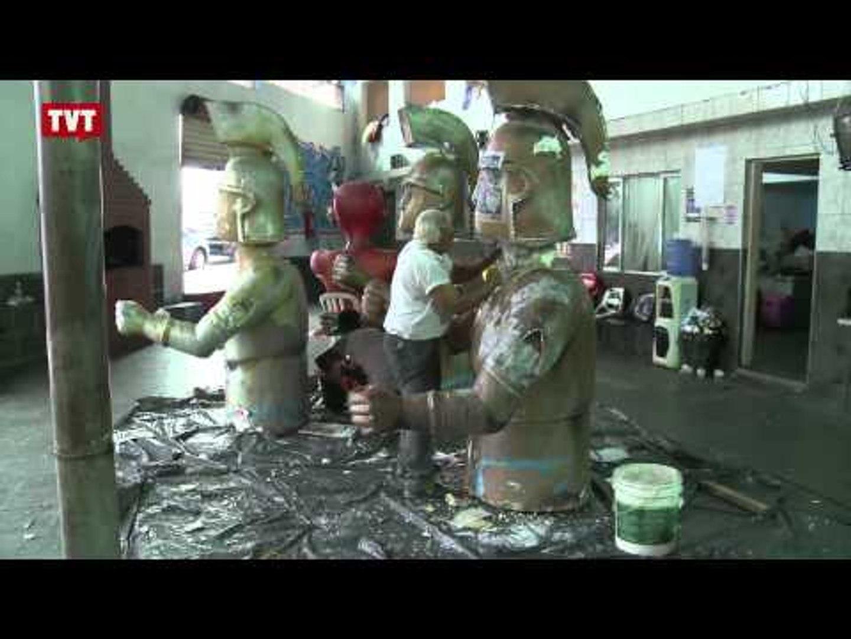 Econômico e Sustentável: Escola de Samba em Santo André reaproveita materiais de outros carnavais