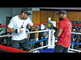 Jordan Thompson   PUBLIC WORKOUT   HE'S BACK! Undercard Boxing