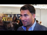 Eddie Hearn EXCLUSIVE: Anthony Joshua wants Deontay Wilder over Povetkin