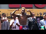 Jermell Charlo vs Austin Trout - WEIGH IN !
