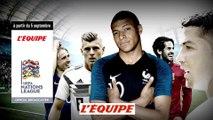 LIGUE DES NATIONS DE L'UEFA, bande annonce - FOOTBALL - NATIONS LEAGUE