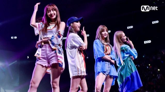KCON 2018 NY×M COUNTDOWN EXID _ INTRO + 내일해(LADY)