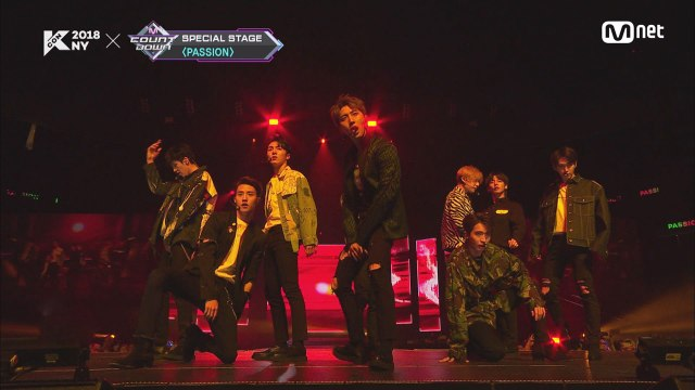 KCON 2018 NY×M COUNTDOWN|펜타곤(PENTAGON) _ Wake Up INTRO