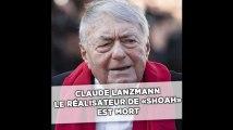Claude Lanzmann, réalisateur de «Shoah»,  est mort