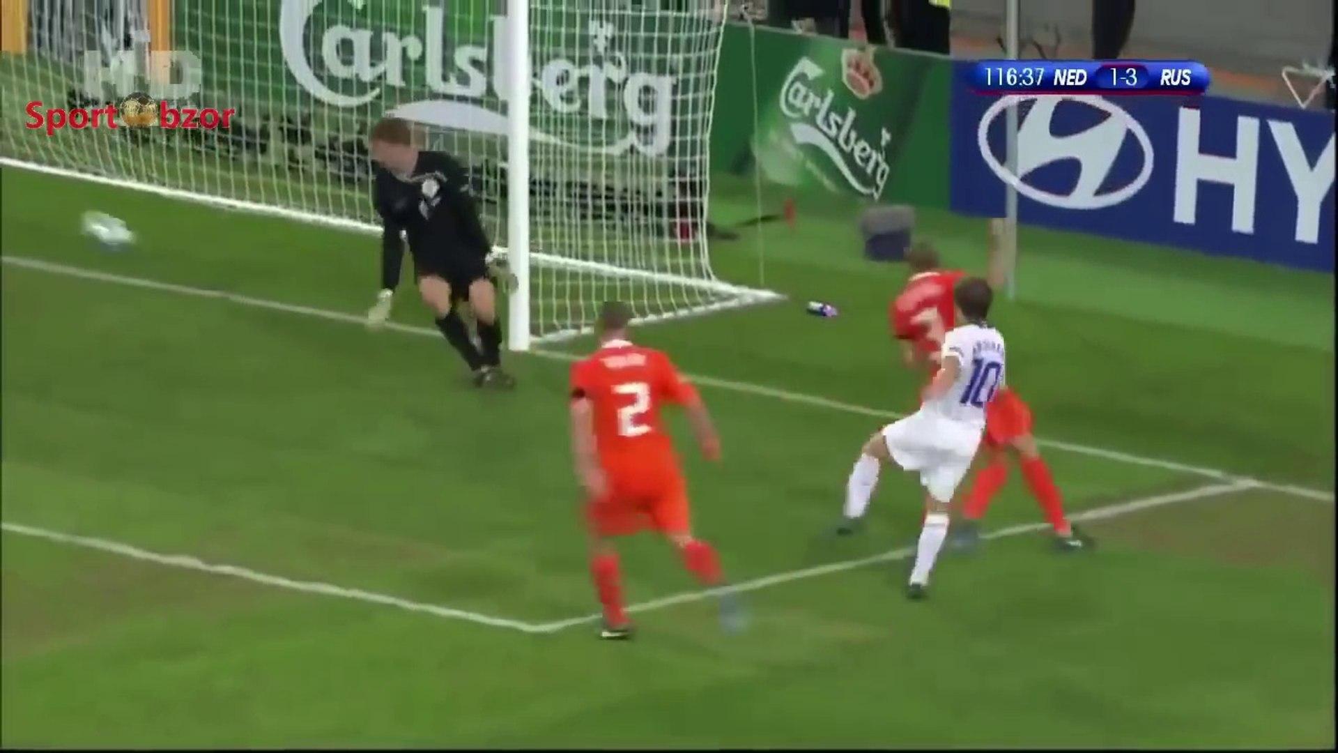 Russia vs Netherlands 3-1 - ALL GOALS & FULL HIGHLIGHTS 1/4 UEFA Euro 2008 HD