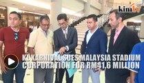 KL Karnival sues Malaysian Stadium Corporation