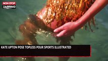 Kate Upton pose topless pour Sports Illustrated (vidéo)