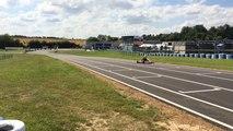 Entraînement des championnats d'Europe de Karting