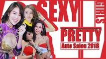 พริตตี้ Bangkok Auto Salon 2018 สวย เอ็กซ์ เซ็กซี่ สายหวาน มีครบจบในงานเดียว