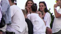 Bella Hadid Parties With Brother Anwar On The 4th Of July