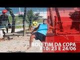 TVT na copa: resumão do fim de semana 23 e 24/06