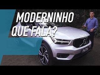 VOLVO XC40, SUV DESCOLADO E QUE DIRIGE SOZINHO