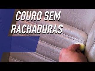 COMO LIMPAR OS BANCOS DE COURO