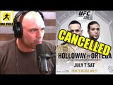 MMA Community reacts to Max Holloway getting pulled off UFC 226,Joe Rogan on Ngannou vs Lewis