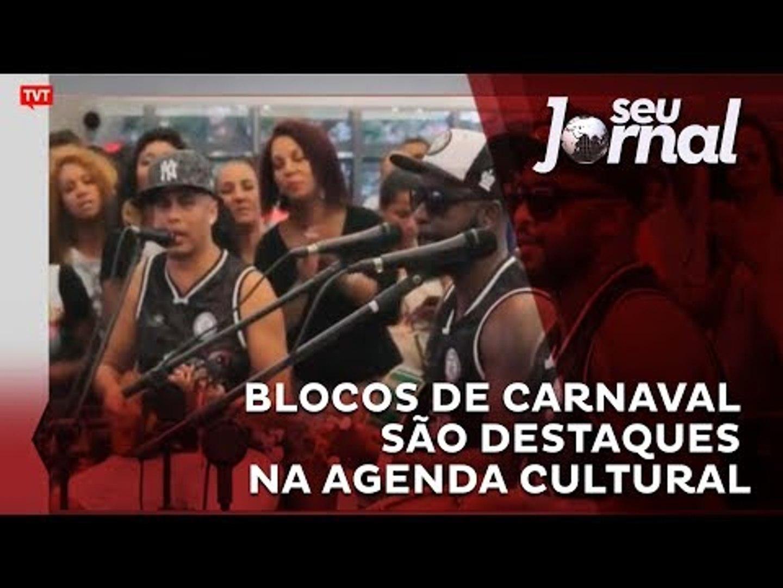 Blocos de carnaval são destaques na agenda cultural