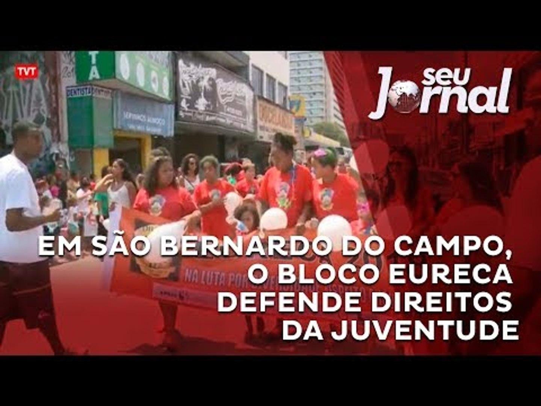 Em São Bernardo do Campo, o bloco Eureca defende direitos da juventude
