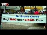 Protesto contra aterro em Mogi das Cruzes - Rede TVT