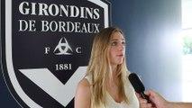 Camille Surdez s'engage avec les Girondins de Bordeaux !