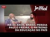 Há 20 anos, Brasil perdia Paulo Freire, o patrono da educação no país