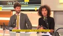 """Violences à Nantes : """"Je ne veux pas penser que la France est à feu et à sang. Il y a un problème de violence mais aussi du malaise de la police"""", réagit Jannick Alimi #lesinformes"""